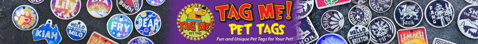 Tag Me Pet Tags Banner